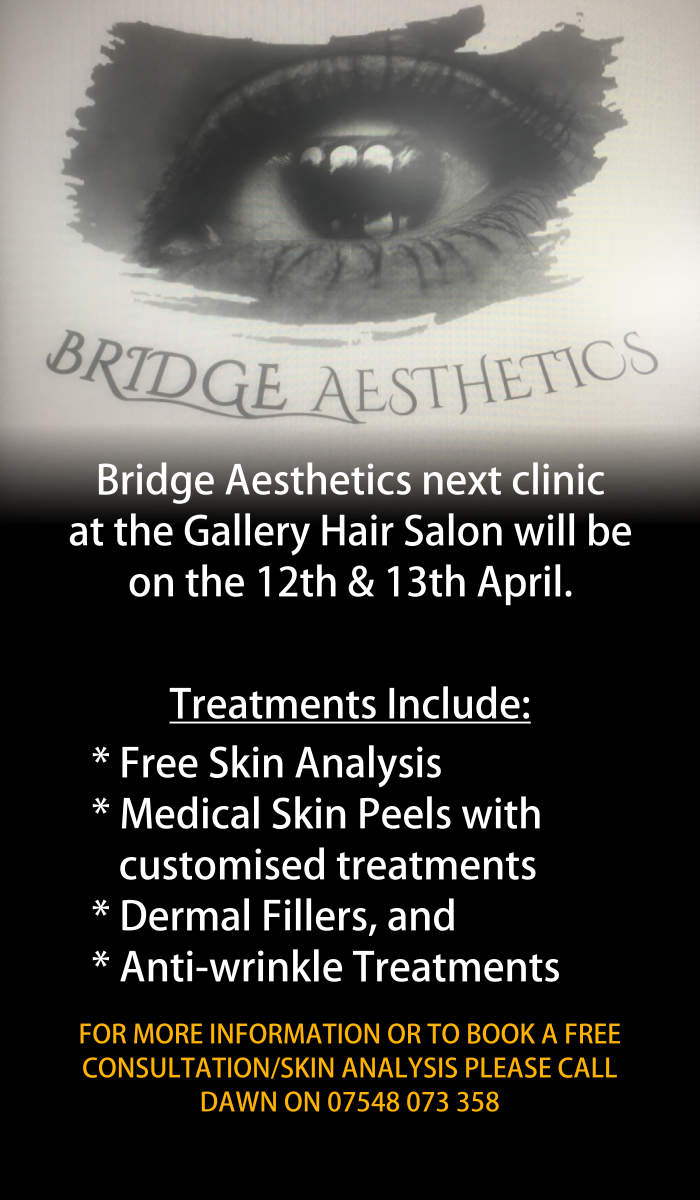 Bridge Aesthetics at the Gallery Hair & Beauty Salon