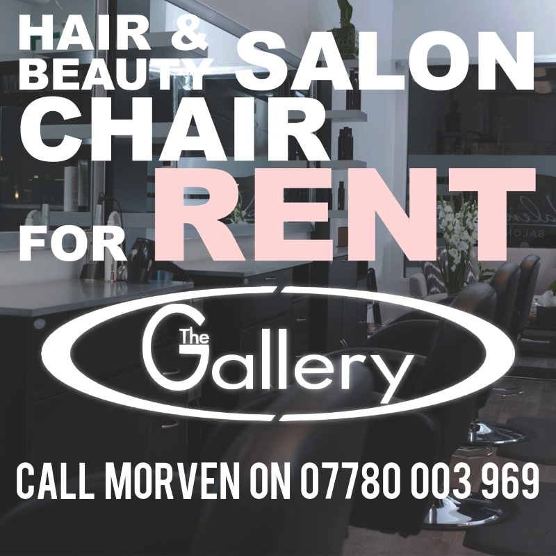 Salon Chair Available for Rent, Call 07780003969