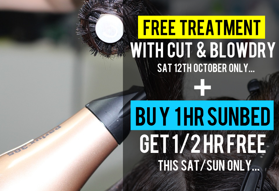 Free Treatment & Sunbed Offer - This Weekend Only!