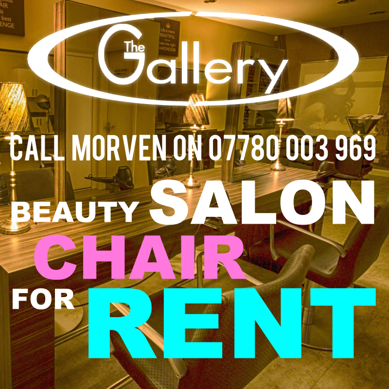 Inverness Salon Chair for Hire - Call Today!